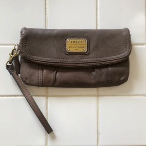 Authentic Fossil Wallet Wristlet